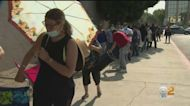 Long Lines Form Outside Van Nuys Post Office For Passport Fair
