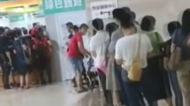 台灣人湧內地打疫苗 多處大排長龍 上海可打兩劑享當地人待遇
