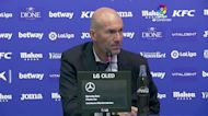 Real Madrid to 'disconnect' and rest ahead of City match, says Zidane