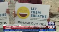 Parents unhappy after state-run California lifeguard program diverges from state mask policies