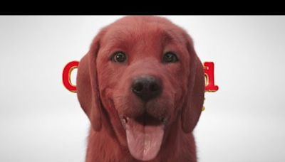 Woof! 'Clifford the Big Red Dog' looks odd, but not 'Cats'-level creepy