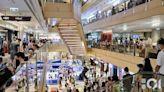 消費券|「派錢」首日氣氛熱 Apple Store人龍再現 商場人頭湧