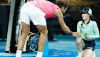 Brave ball girl reveals Nadal's act of kindness