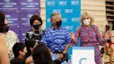 Jill Biden calls on unvaccinated in Hawaii to get shots