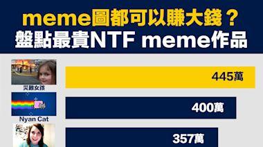 【行業數據】meme圖都可以賺大錢?盤點最貴NTF meme作品