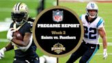 Week 2 Saints Pregame Report: How to Watch and Follow