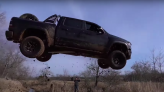 A Brief History of People Wrecking Brand-New Trucks With Ill-Advised Jumps