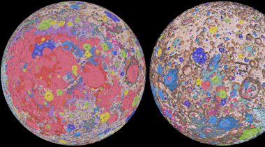 NASA Just Released a Super Detailed Map of the Moon