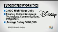 Walt Disney To Move Thousands Of Jobs From California To Florida