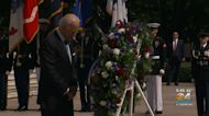 President Biden Uses Memorial Day Remarks To Call For Preservation Of Democracy