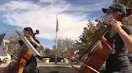 One group brings calming music to the polls