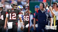 Nick Wright says Beichick's Patriots have no chance of beating Brady's Bucs: 'They stink!' I FIRST THINGS FIRST