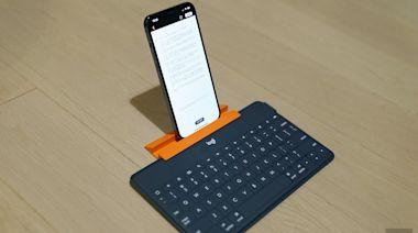 Logitech Keys-To-Go 動手玩:給 iPhone、iPad、Apple TV 的隨時備用鍵盤
