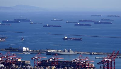 About 200,000 shipping containers stranded off California coast in supply-chain pandemic disruptions