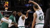 Evan Turner shares how he put Kelly Olynyk on the hot seat in the GOAT point guard debate