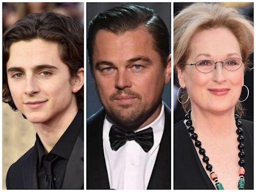 Leonardo DiCaprio, Meryl Streep, Jonah Hill lead biggest line-up of A-list talent since Ocean's Eleven in new Netflix comedy