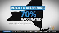 New York Nearing 70% Vaccinated