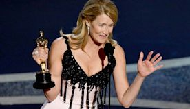 Oscars: Laura Dern Dedicates Best Supporting Actress Win to Her Parents