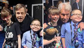 Harrison Ford, Mark Hamill Grant Kids Wish Network Lifetime Experience