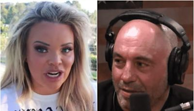 Trisha Paytas clapped back at Joe Rogan after he commented on a bikini picture of them on his podcast