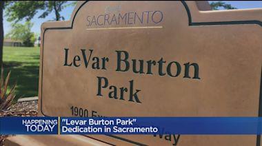 South Sacramento Park Renamed After 'Star Trek,' 'Reading Rainbow' Star LeVar Burton