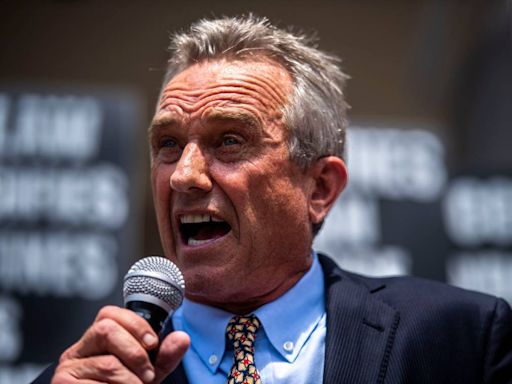 California Democrat asks Twitter, Facebook to ban Robert F. Kennedy Jr. over vaccine posts