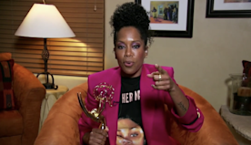 "'Watchmen's Regina King Wins Fourth Career Emmy, Thanks Series Creator Damon Lindelof ""For Your Brilliant Mind"""