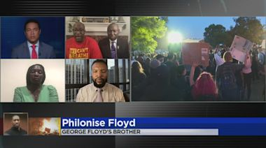 George Floyd's Brother Compares His Conversations With President Donald Trump and Joe Biden