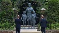 Princes William and Harry reunite for unveiling of Princess Diana statue on her 60th birthday