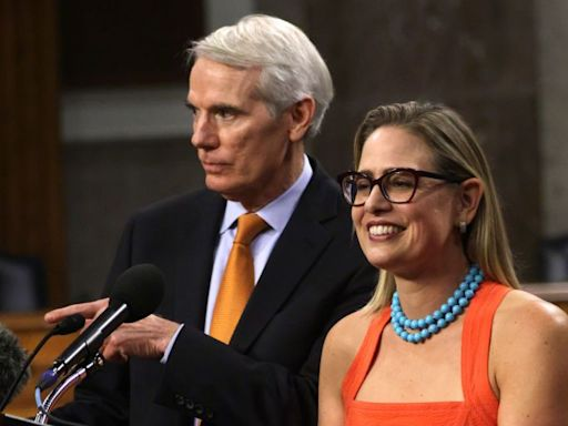 Is Kyrsten Sinema Going to Think About Arizona's (Scary) Future When It Comes to These Infrastructure Bills?