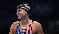 Katie Ledecky Thanks the Family Who Let Her Train in Their Pool During COVID as She Wins Another Gold
