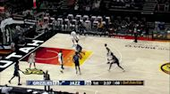 Anthony Cowan Jr. with a 2-pointer vs the Utah Jazz White