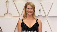 Laura Dern's birthday gift at Oscars