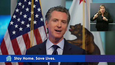 In CA: Newsom sets plan for reopening and Lakers return relief funds
