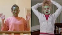 Hilary Duff and her Cheaper By The Dozen co-stars recreate iconic scenes from the movie