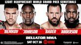 Bellator MMA event featuring world champion, ASU alum Ryan Bader returns to Phoenix in October