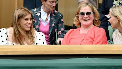 Princess Beatrice Matches Her Aunt, Sophie, Countess of Wessex, at Wimbledon