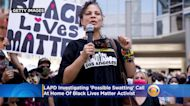LAPD Investigating 'Possible Swatting' Call At Home Of Black Lives Matter Activist