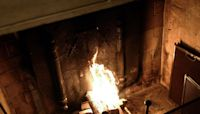 How to turn your TV into a fireplace for Christmas