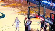 Oregon women's basketball's Lydia Giomi is the Ducks female 2021 Tom Hansen Award winner