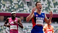 'Best race in Olympic history:' Inside the record-breaking duel between Rai Benjamin and Karsten Warholm