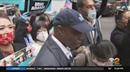 Eric Adams Holds Get Out The Vote Rally In Chinatown