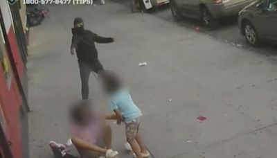 Shocking video shows kids caught in middle of NYC shooting