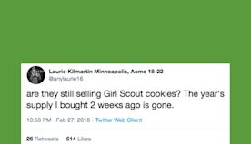 30 Funny Tweets About Girl Scout Cookie Season