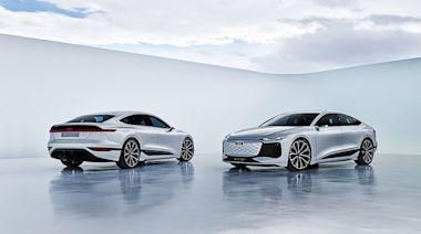 2021 上海車展:Audi PPE 純電模組化平台首發 A6 e-tron concept 概念作欲攻純電中大型房車市場
