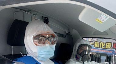 新北救護壓力重 消防局:隊員疫苗施打率達9成8