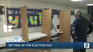 Davidson Co. election workers set up voting precincts ahead of Election Day