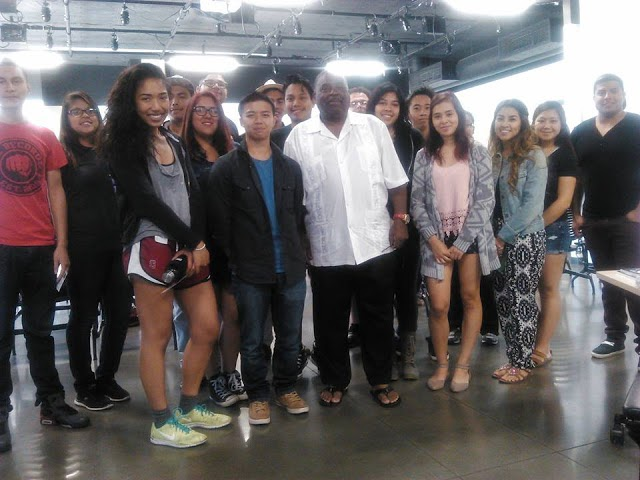 Marvin X and students at the University of California, Merced ...
