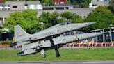 F-5E/F全面停飛特檢!失事機1980年出廠去年才大檢