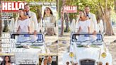 James Middleton's bride wears Carole's 1980s dress to tie the knot